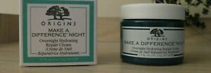 ORIGINS MAKE A DIFFERENCE NIGHT Hydrating Repair Cream 1.7 oz / 50 ml NIB
