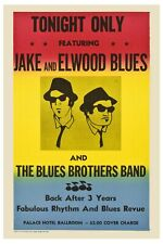 Classic: The Blues Brothers Promotional USA Poster 1980 12x18