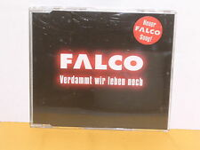 MAXI CD - FALCO - VERDAMMT WIR LEBEN NOCH