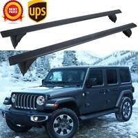For 2018-2019 Jeep Wrangler JL Removable Hardtop Roof Rack Cross Bar OEM Replace