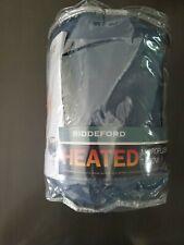 Biddeford MicroPlush Sherpa Electric Heated Warming Blanket Throw