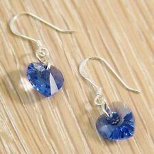 Hook Drop/Dangle Sapphire Fashion Earrings