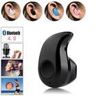 Mini Wireless Bluetooth 4.0 Stereo InEar Headset Earphone For Samsung iPhone