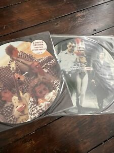 """INXS - HEAVEN SENT / BABY DON'T CRY ( Double 12"""" Picture Disc Set 1992 )"""