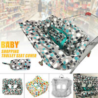 Child Baby Kid Shopping Trolley Cart Cover Seat High Chair Protective Pad Mat ❤