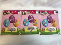 Shopkins Easter Egg Decorating Kit Lot of 3 Kits