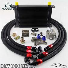25 ROW OIL COOLER KIT FOR NISSAN Silvia S13 S14 S15 180SX 200SX 240SX SR20DET BK