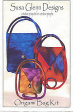 Origami Bag Kit by Susa Glenn Designs ~ Instructions & Supplies