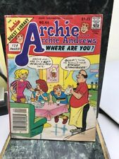 The Archie Digest Library: Archie...Archie Andrews Where Are You? No. 44