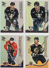 2000-01 Pacific Prism McDonalds Hockey Base Set plus Checklist Set (45 cards)