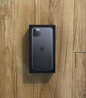 iPhone 11 Pro Max Green 256GB Original Apple Retail Packaging Genuine Empty Box