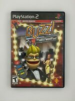 Buzz! The Hollywood Quiz - Playstation 2 PS2 Game - Complete & Tested