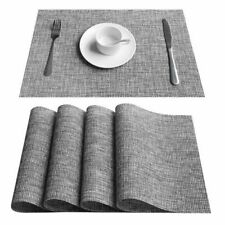 PVC Solid Placemats For Dining Coffee Plastic Cup Coaster