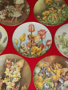 THE FESTIVAL OF FLOWER FAIRY PLATES BY CICELY MARY BARKER - SELECT PLATE