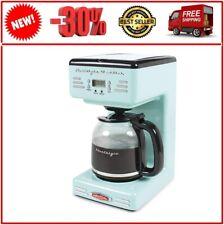 Nostalgia RCOF12AQ Retro 12-Cup Coffee Maker