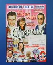 THEATRE FLYER CINDERELLA SIGNED BY LEON LOPEZ [ BROOKSIDE ]
