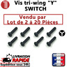 Lot de vis Y tri wing de remplacement pour nintendo switch joycon screws triwing