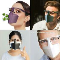 3pcs Reusable Anti-Saliva Isolation Face Protective Shield Cover Face Mouth Mask