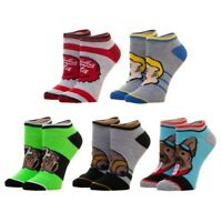 5 Pairs Fallout Women's Ankle Socks Bioworld Ladies Size 9-11 Nuka Cola Pip Boy