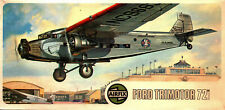 AIRFIX 1/72 FORD 5-AT TRIMOTOR TIN GOOSE AIRLINER Kit#04009-9 *2 KITS IN 1 BOX*