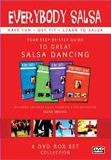 EVERYBODY SALSA! VOLS 1-4 DVD BOXSET - DVD - REGION 2 UK