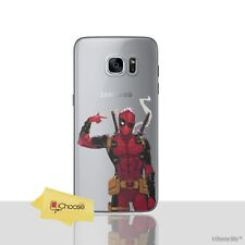 Deadpool Case/Cover For Samsung Galaxy S6/S7/Edge/S8/S9/Plus / Silicone Gel TPU