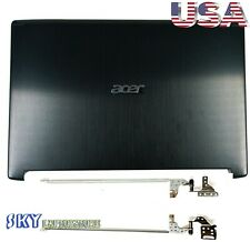 New Acer Aspire 5 A515-51 A515-51G LCD Back Cover Rear Lid + Hinges 60.GP4N2.002