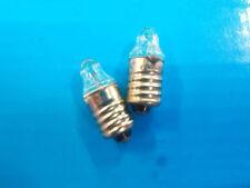 2.2V 0.25A E10 Pen Crystal Bulb Medical Flashlight Bulb Lamp Miniature Light X20
