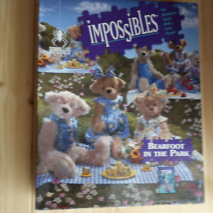 IMPOSSIBLES Barefoot In The Park Jigsaw Puzzle 750+5 Extra Pieces BORDERLESS