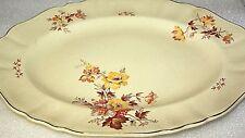 J & G Meakin  Jacobean ware antique platter serving plate oval serving platter