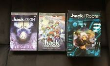 .hack//SIGN, .hack//Legend Of The Twilight & .hack//Roots Lot Dvd Anime Oop Rare