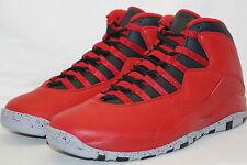 Nike Air Jordan 10 Retro 30th taille 45 uk.10 Bulls Over Broadway 705178 601 Gym Red