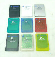 Sony Playstation 2 PS2 Official OEM MagicGate 8mb Memory Card Genuine SCPH-10020