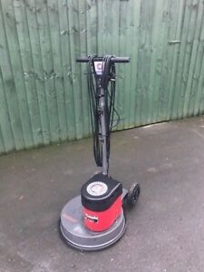 """15"""" VICTOR EUROPA HIGH SPEED  RECONDITIONED FLOOR POLISHER - Cleaned Up"""
