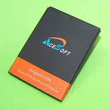 AceSoft New 2520mAh Battery For Boost Mobile ZTE Warp Sequent N861 SmartPhone