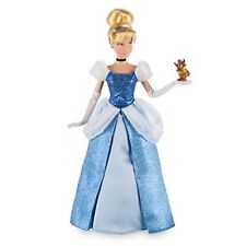 "PRINCESS CINDERELLA & GUS Classic Doll Mouse Toy Action Figure 12"" Disney Store"