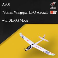 WLtoys XK A800 2.4G 5CH RC Airplane with 3D/6G Mode 780mm Wingspan EPO Aircraft