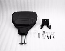 Adjustable Driver Rider Backrest For Harley 1988-2008 Street Glide Back Rest