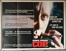 Cinema Poster: COP 1988 (Quad) James Woods Lesley Ann Warren Charles Durning