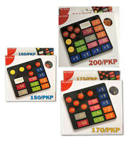 Fiches poker Dal negro Pkp 150, 170, 200 gettoni per giochi di carte chips euro