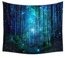 MAGICAL FAIRY LIGHTS MYSTICAL FOREST TREE MANDALA BEACH WRAP ~ WALL TAPESTRY