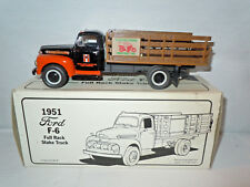 Custom Chrome Motorcycles 1951 Ford F-6 Stake Truck Christmas Edition