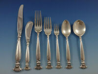 Romance of the Sea by Wallace Sterling Silver Flatware Set Service 88 Pieces