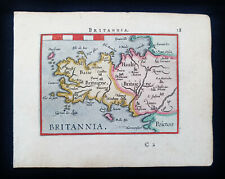 1601 A. ORTELIUS - rare map of FRANCE, BRITTANY, RENNES, BRETAGNE, FINISTERE...