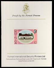 Dominica (419) 1975 Rum Distilery $2 imperf  on Format International PROOF  CARD