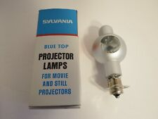 Projection Lamp CXR 50W 8V Sylvania Blue Top Projector Bulb NOS