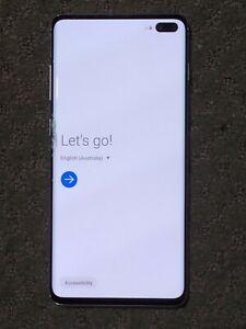 Samsung Galaxy S10+ SM-G975F - 128GB - Prism White (Unlocked) Broken Screen