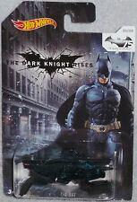HOT WHEELS Batman The Bat The Dark Knight Rises #06/08 75 Years Walmart