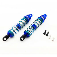 Traxxas Rustler 1:10 Alloy Front Ultra Shocks, Blue by Atomik - Replaces 3760A