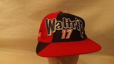 Vtg Darrell Waltrip Western Auto Racing #17 Snapback Hat/Cap NOS Trucker Nascar